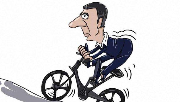 Карикатура недели: велорейтинг Кличко